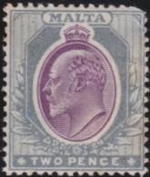 Malta  .    SG  .   50 Slightly Stained On Gum    .    *    .   Mint-hinged   .   /   .  Neuf Avec Charnière - Malta (...-1964)