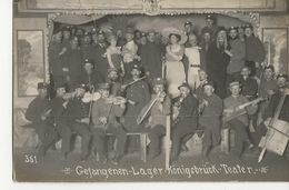 KONIGSBRUCK Camp De Prisonniers - GEFANGENEN LAGER - Correspondances  -  Teater - Guerra 1914-18