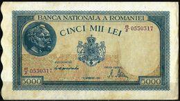 5.000 LEI FROM 1944 - Roemenië
