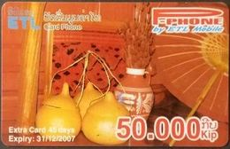 Mobilecard Laos - Handwerk - Tradition (3) - Laos