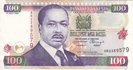 BILLETE DE KENIA DE 100 SHILINGI DEL AÑO 1999 (BANK NOTE) - Kenya