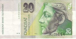 BILLETE DE ESLOVAQUIA DE 50 KORUN DEL AÑO 1999 (BANK NOTE) - Slowakije