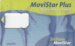 Spain, GSM Frame Without Chip,  Movistar Plus - Bailarinas, 2 Scans. - Espagne