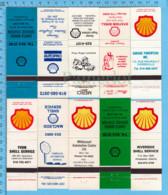 """24 Pochettes D'allumettes """" Sans Allumettes"""" - Province De Quebec - Sea Shell - Boites D'allumettes - Etiquettes"""