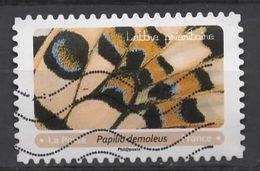 FRANCE 2020 Oblitéré : Effets Papillons - KlebeBriefmarken