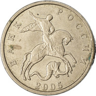 Monnaie, Russie, 5 Kopeks, 2005, Saint-Petersburg, TTB, Copper-Nickel Clad - Russie