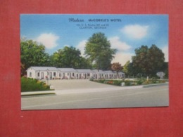 Modern McCorkle's Cottage Motel Claxton  Georgia >   Ref 4260 - Etats-Unis