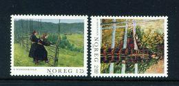 NORWAY - 1982 Paintings Set Unmounted/Never Hinged Mint - Norwegen