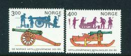 NORWAY - 1985 Artillery Set Unmounted/Never Hinged Mint - Norwegen