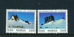 NORWAY - 1985 Antarctic Mountains Set Unmounted/Never Hinged Mint - Norwegen