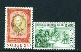 NORWAY - 1985 Public Libraries Set Unmounted/Never Hinged Mint - Norwegen