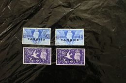 Tangier 523-524 Peace Issue Two Sets Cancelled 1946 A04s - Andere