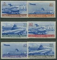 Türkei 1954 Flugpostmarken, Flugzeuge 1404/09 Postfrisch - 1921-... República