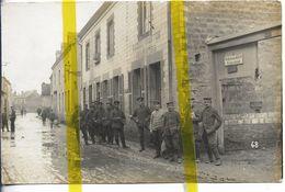 51 MARNE WARMERIVILLE Canton  BOURGOGNE  CARTE PHOTO ALLEMANDE MILITARIA 1914/1918 WW1 WK1 - Other Municipalities