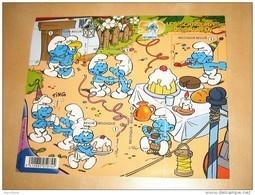 BLOK 159** Postfris 50 Jaar Smurfen  3809/13**  / Les Schtroumpfs  / The Smurfs / Peyo - Bloques 1962-....