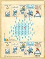 4749/53** / De Smurfen Worden 60 - The Smurfs - 60 Ans Des Schtroumpfs - Peyo  LIRE!!!! - Bélgica