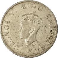 Monnaie, INDIA-REPUBLIC, 1/2 Rupee, 1947, Mumbai, Bombay, TB+, Copper-nickel - India