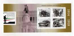 ITALIA - 2018 - Foglietto  - Centenario Prima Guerra Mondiale - Nuovo ** - (FDC23133) - Blocchi & Foglietti