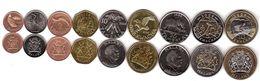 #2 - Malawi - Set 9 Coins 1 2 5 10 20 50 Tambala 1 5 10 Kwacha 1996 - 2006 AUNC Lemberg-Zp - Malawi