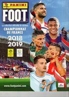 Album PANINI Vierge,  Championnat De FRANCE Football Saison 2018-2019, Pas De Vignettes Collées - Other