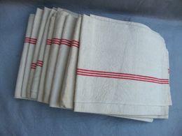 9 Torchons 60x 79 - Vintage Clothes & Linen