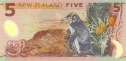 NEW ZEALAND P. 185b 5 D 2009 UNC - Nieuw-Zeeland