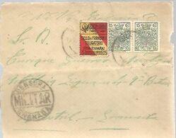 CARTA COMERCIAL 1937 VIÑETA   CENSURA GRANADA  SELLO MOVIL - 1931-50 Briefe U. Dokumente