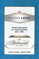 ROTHMANS Pubblicità Interna Pacchetto Sigarette - Articoli Pubblicitari