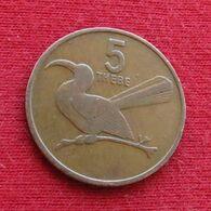 Botswana 5 Thebe 1981 KM# 4 *V1  Botsuana - Botswana