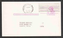 United States - Scott #UX48 Used - Interi Postali