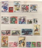 Tschechoslowakei 1972 Siehe Bild/Beschreibung 20 Marken Gestempelt, Used - Czechoslovakia
