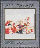 **Canada Scott 1419 NEW (MNH) - Masterpieces Of Canadian Art: David Milne, Red Nasturtiums - Nuovi