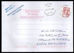 VA 562 SPID BAP NIAMEY Enveloppe Cover 02 07 2019 - Marcophilie (Lettres)