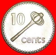 · GREAT BRITAIN (1990-2006): FIJI ★ 10 CENTS 1996 MINT LUSTER! LOW START★ NO RESERVE! - Fiji