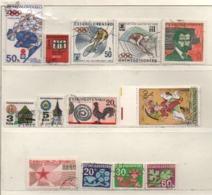 Tschechoslowakei 1972 Siehe Bild/Beschreibung 13 Marken Gestempelt, Used - Czechoslovakia
