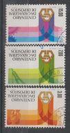 PORTUGAL CE AFINSA 1302/1304 - USADO - 1910 - ... Repubblica