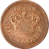 Monnaie, Danemark, Margrethe II, 25 Öre, 1998, TTB, Bronze, KM:868.1 - Dänemark