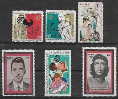 1968 Cuba OMS-dia De La Infancia-educacion-personajes 6v. - Gebraucht