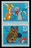 DDR ZUSAMMENDRUCK Nr SZd125 Postfrisch SENKR PAAR SBD1C56 - DDR