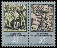 DDR ZUSAMMENDRUCK Nr WZd315 Postfrisch WAAGR PAAR SBD7D9E - DDR