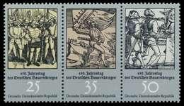 DDR ZUSAMMENDRUCK Nr WZd318 Postfrisch 3ER STR SBD7DB6 - DDR