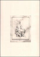 Jelzés Nélkül: Bachus. Rézkarc, Papír, 20×15 Cm - Unclassified