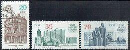 DDR 1987 Mi 3071-3073 U - Used Stamps