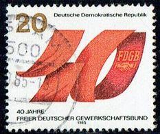 DDR 1985 Mi 2951 U - Used Stamps