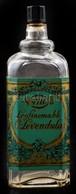 No. 4711 (4711 Eau De Cologne) Legfinomabb Ó-levendula Parfümös/kölnis üveg, Eredeti Kissé Kopott Kartondobozában, A Fed - Verre & Cristal