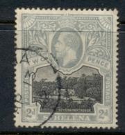 St Helena 1912-16 KGV Government House 2d FU - St. Helena