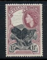 St Helena 1953 QEII Pictorial 1.5d MUH - St. Helena