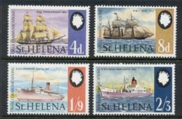 St Helena 1969 Dependence On Sea Mail, Ships MUH - St. Helena