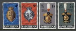 St Helena 1970 Regimental Emblems MUH - St. Helena