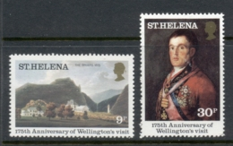 St Helena 1980 Wellington's Visit MUH - St. Helena